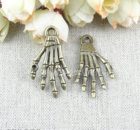 Traditional Charm halloween charms - A3064 MM Vintage Hand charm halloween charms witch charm DIY accessories handmade materials