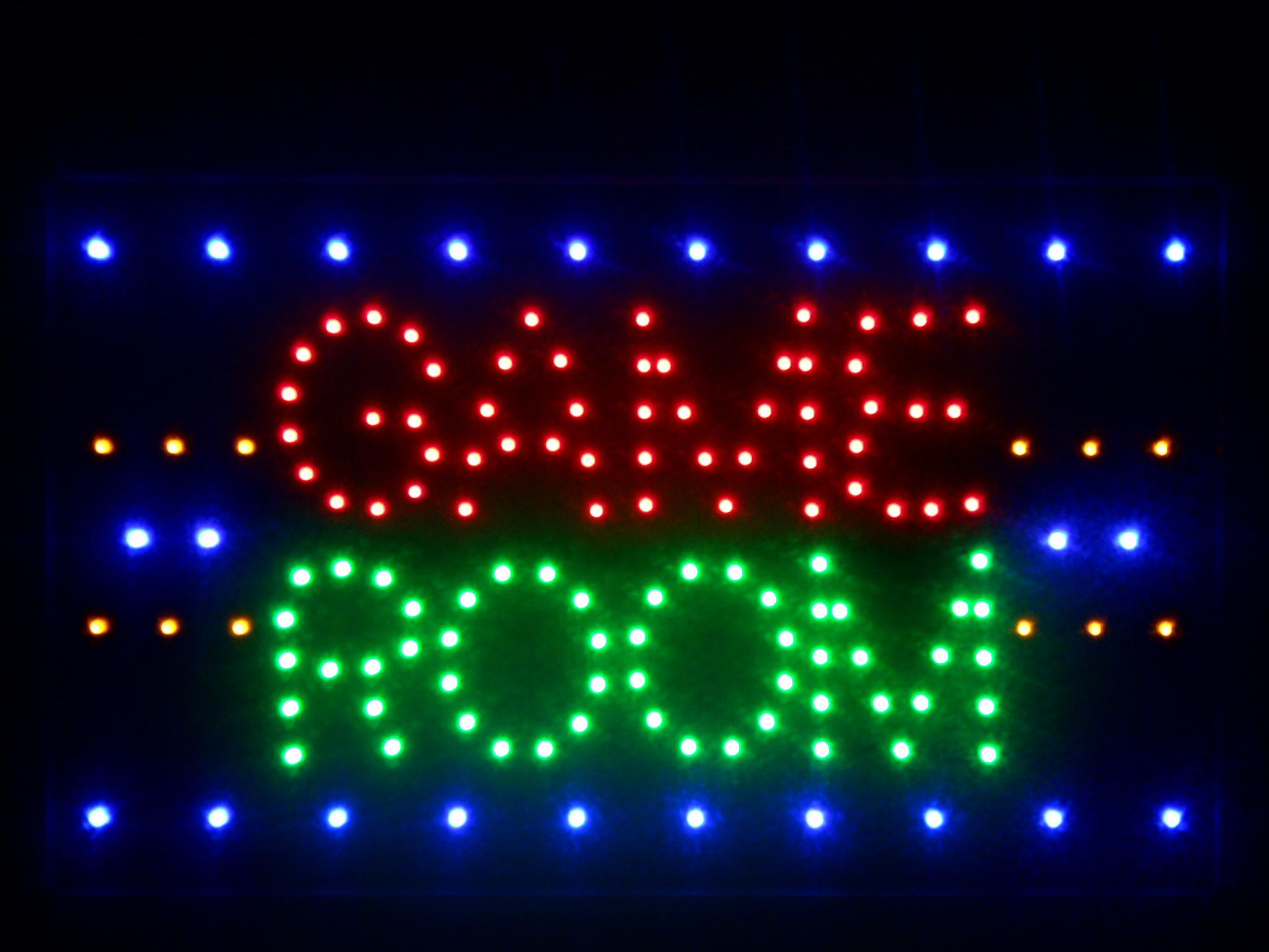 Nled047 R Game Room LED Neon Light Sign 16 X 10 From