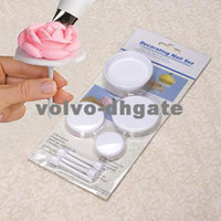 Wholesale Flower Nails Set Stand Cupcake Icing Cream Sugarcraft Decorating Tools set DK2110