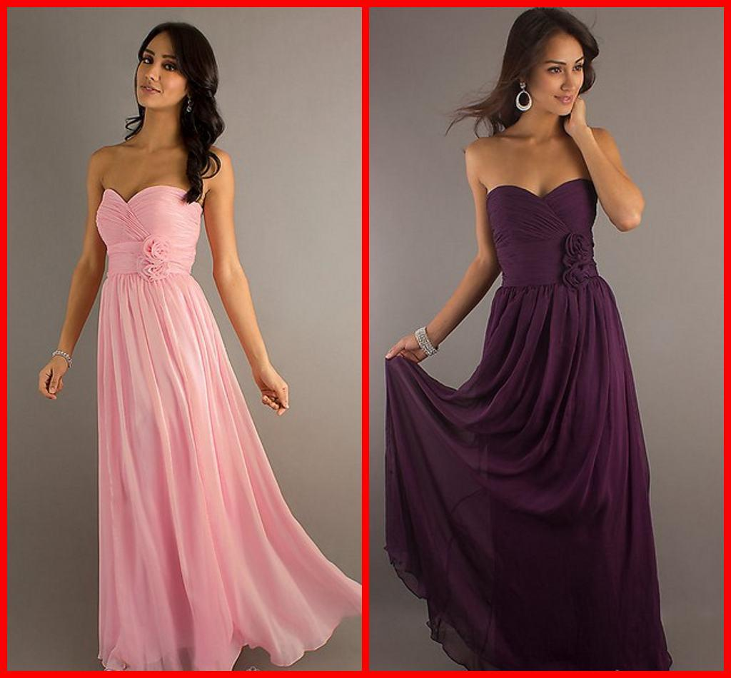 Pink And Purple Bridesmaid Dresses Viewing Gallery