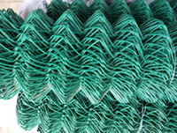 Wholesale Galvanized Or PVC Coated Chain Link Fence Low Carbon Steel Wire mm Opening mm Fence Mesh Supplier