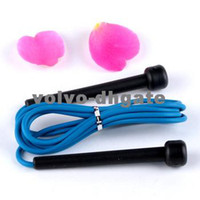Wholesale Blue Plastic Skipping Rope Jumping Fast Speed Gym Training Sports Exercise M New DK2112
