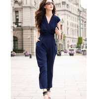 Women Short Sleeve Long 2013 Western style Hot Women sexy Jumpsuit bodysuit Harem Pants casual jumpsuit zipper side slim ladies jumpsuit summer pants women clothes