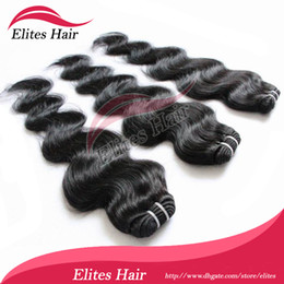 Wholesale DHL Brazilian Virgin Human Hair Weave Remy Hair body wave quot quot g pc B BH403