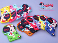 Cheap 10pcs South Korea confused doll case for apple for iphone5 mobile phone sets of protective cover Silicone Case