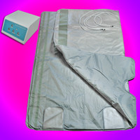 Wholesale 110V V Brand New ZONE FIR FAR INFRARED SLIMMING SAUNA BLANKET SPA WEIGHT LOSS PORTABLE A