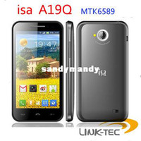 Wholesale SG HK Post isa A19Q Smart Phone MTK6589 Quad core GHz quot QHD screen Android GB RAM GB ROM LT18
