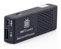 Cheap Free Shipping Smart Andriod 4.1 Dual Core Rk3066 A9 1.6GHZ 8GB Mini PC WiFi TV IP TV Box 3D MK808