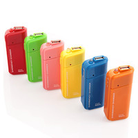 For Apple iPhone usb flashlight - Portable USB Emergency Charger AA Battery Charger Flashlight for Iphone S ipad ipod cellphone