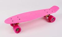 Wholesale Best Quality Stereo Plastic Vinyl Cruiser Skateboard Complete Mini Skateboard