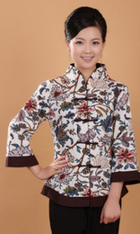 Traditional Chinese Tang Mounted Jacket