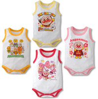 6-9 Months Unisex Summer anpanman babywear baby rompers bodysuits toddler one-piece romper shortalls jumpsuits singlets baby overalls cotton tops girls jumpers Y464