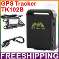 Yes GPS Tracker Guangdong China (Mainland) Vehicle Car Tracking Device GPS Tracker TK102B Support TF Card Build-in Memory.Free shipping