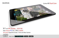 Android 4.0 9.7 inch android 4.0 - Zenithink C97 Android Tablet PC quot IPS AMlogic GHz Dual Core GB WiFi Dual Camera MID