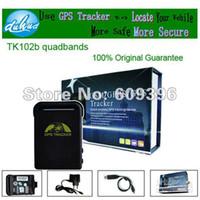 GPS Tracker 12V tk102b Mini GPS Tracker TK102B with Memory Slot and Inbuilt Shock Sensor and Sleep Function