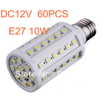 Wholesale SMD5050 W LED corn LAMP E27 E14 B22 super bright degree AC DC V V Energy saving led bulb Light