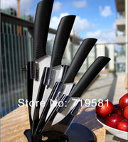 Wholesale High Quality Larcolais Ceramic Knife Sets quot quot quot inch Peeler Holder Colors Can Select