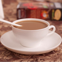 Wholesale Bone China coffee cups best coffee cups and saucers suit bone porcelain ceramic coffee set classic pure white