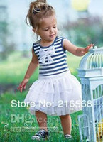 Wholesale children s skirt tutu baby girl dress kids wear kids clothing with bow Children apparel zv