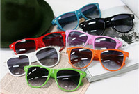 amber styles - 20PCS hot sale classic style sunglasses women and men modern beach sunglasses Multi color sunglasses
