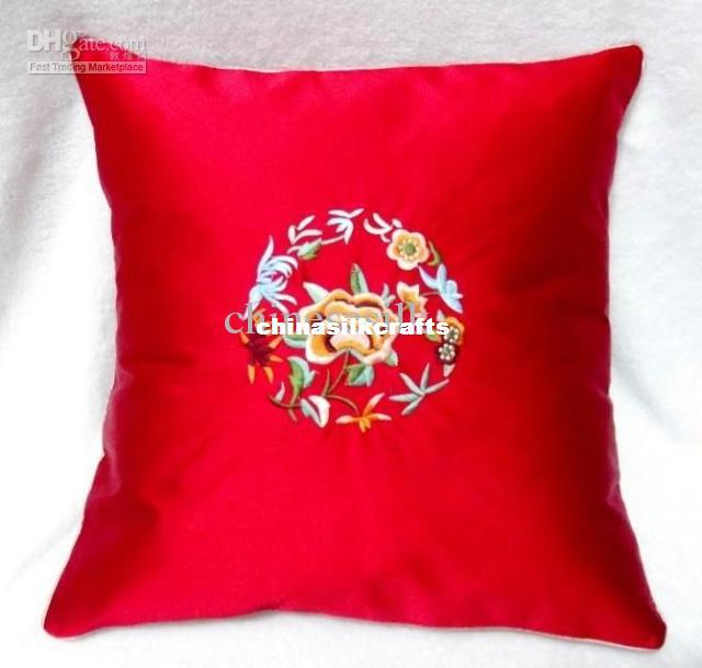 red zippered couch cushion covers new 18 x 18 high end silk fabric embroidery designs free lawn. Black Bedroom Furniture Sets. Home Design Ideas