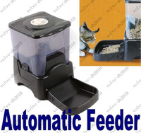 Wholesale XYA51 Large Automatic Timer Dog Cat Pet Feeder Dry Food Portion Control
