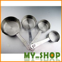 Wholesale Baking Tools stainless steel sets cup measuring spoon set measuring spoons seasoning spoon ml spoon