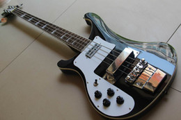 Wholesale Newest china String Electric Bass Guitar BLACK in left handed