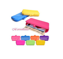 Wholesale waterproof silicone multi function Ms cosmetic bag cell phone pocket
