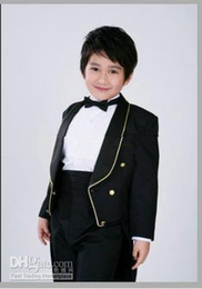 Wholesale 2010 new style complete designer boy wedding suit Boys Attire clothes pants tie girdle a976