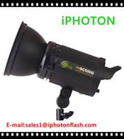 Wholesale iPHOTON Multi function Photography Flash Light SC500G WS Power AC DC Flash Light