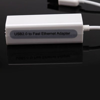 Wholesale New Arrival USB to Fast Ethernet LAN Female RJ45 Network Adapter Mbps Hot