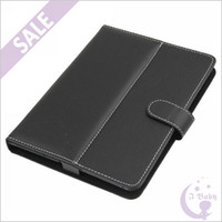 For Lenovo aluminum protective case - High Quality Black inch Protective Leather Case Cover Skin Holster with Stand for inch inch inch Tablet PC Ebook Reader MID