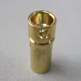 Wholesale 100pair mm Gold Bullet Banana Connector Plug for RC Battery