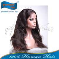 Wholesale Brazilian Virgin Human Hair Natural Color Body Wave Lace Front Wig For Lady