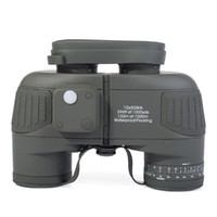 Wholesale 2014 Hot Sale Tactical Military x50 Navy Binoculars With Rangefinder and Compass Reticle Illuminant