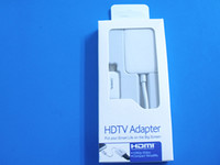 Wholesale For Samsung i9500 i9505 HDTV Adapter Galaxy S4 MHL Micro USB to HDMI HDTV Cable Adapter