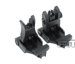 A.R.M.S. #71L ARMS Polymer Front & Rear Flip-up Sight Black free shipping