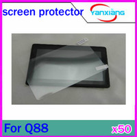 Wholesale DHL For A13 Q88 inch tablet screen protector guard lcd screen protective film RW L11