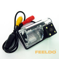 Wholesale 50set Good CCD Reverse Car Camera With LED lights for Toyota Corolla EX E120 BYD F3 F3R