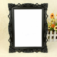 Wholesale square desktop princess makeup mirror bathroom mirror