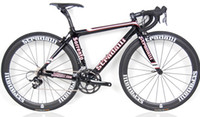 Wholesale 2012 STRADALLI SORRENTO FULL CARBON ROAD BIKE SRAM FSA SELLE ITALIA BICYCLE cm