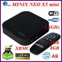 Wholesale MINIX NEO MINI X5 Android TV Box Mini PC Dual Core GHz G RAM G ROM WiFi USB RJ45 HDMI XBMC Media Player Smart Set Top Box Receiver