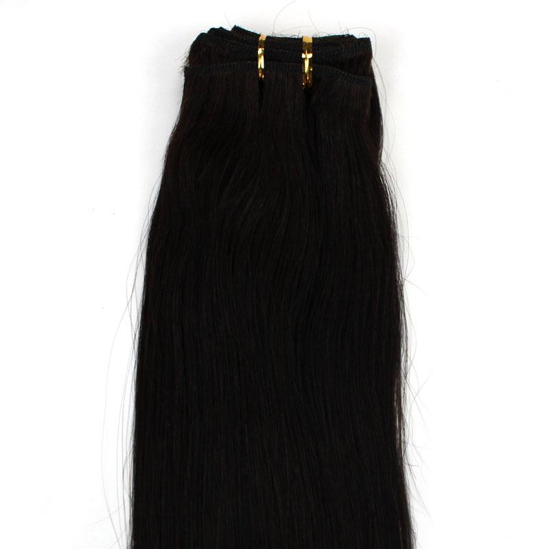 Cheap Weft Hair Extensions Gold Coast Remy Indian Hair