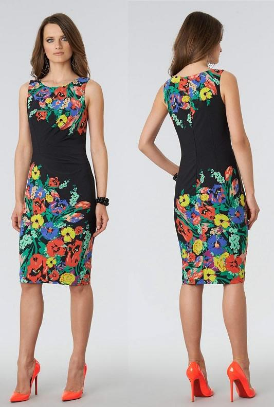 Elegant Women Floral Dress