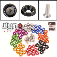 red blue golden purple black silver   EA010 - Password:JDM Fender Washers 1set=8pcs washers and bolt