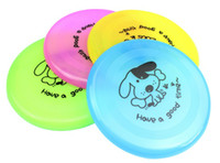 Wholesale New CM Pet Puppy Cat Plastic Training Flying Saucer Dog Frisbee Toy