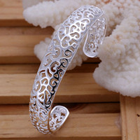 Wholesale Factory price high quality Fashion jewelry silver Bracelets lknspcb144