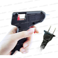 Wholesale 20W V V Mini Electric Heating Hot Melt Glue Gun Crafts Repair Tool Professional US Plug GX