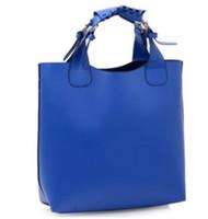 Wholesale Ladies Vintage Celebrity Tote PU Leather Handbag Shopping Shoulder Bag Adjustab Handle